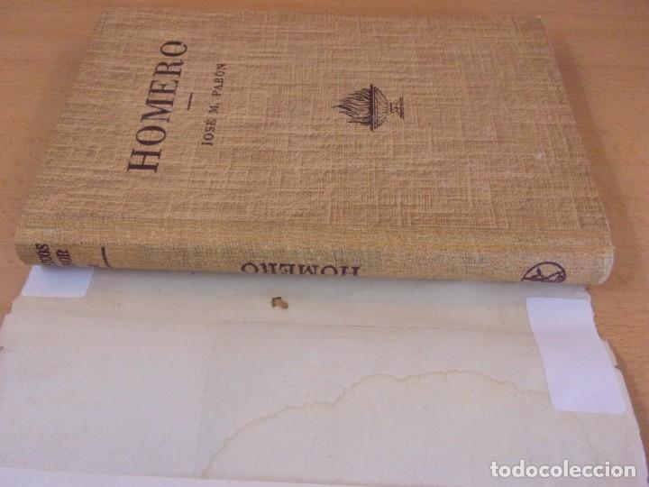 Libros de segunda mano: HOMERO / J.M. PABÓN / 1947. LABOR - Foto 3 - 180127416