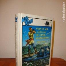 Libros de segunda mano: VEINTE MIL LEGUAS DE VIAJE SUBMARINO - JULES VERNE - ANAYA TUS LIBROS. Lote 180140190