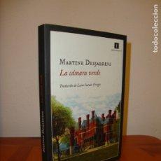 Libros de segunda mano: LA CÁMARA VERDE - MARTINE DESJARDINS - IMPEDIMENTA, INCLUYE MARCAPÁGINAS, COMO NUEVO. Lote 180140976