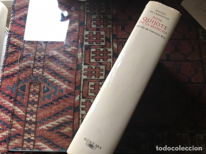 Libros de segunda mano: Don Quijote de la mancha. Edición de Francisco Rico. Alfaguara. 2007 - Foto 2 - 180151033