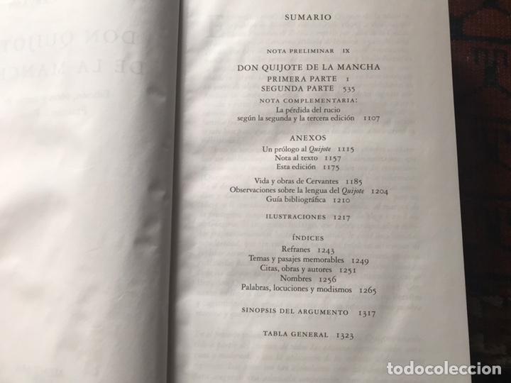 Libros de segunda mano: Don Quijote de la mancha. Edición de Francisco Rico. Alfaguara. 2007 - Foto 7 - 180151033