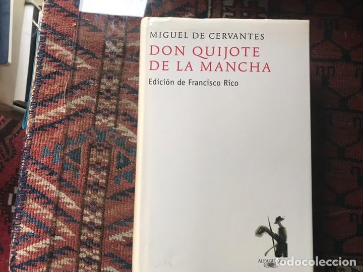 DON QUIJOTE DE LA MANCHA. EDICIÓN DE FRANCISCO RICO. ALFAGUARA. 2007 (Libros de Segunda Mano (posteriores a 1936) - Literatura - Narrativa - Clásicos)