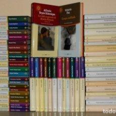 Libros de segunda mano: BIBLIOTECA EL MUNDO. Nº 16. MANUEL VAZQUEZ MONTALBAN. LOS MARES DEL SUR. PROLOGO. JUAN MADRID.. Lote 180284307