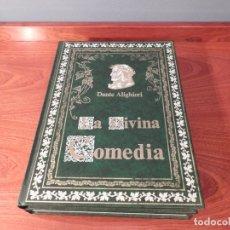 Libros de segunda mano: LA DIVINA COMEDIA - 2 TOMOS - DANTE ALIGHIERI - MUY BUSCADA EDICION DE JOVER - 1991 - 1ª EDICION. Lote 180287927