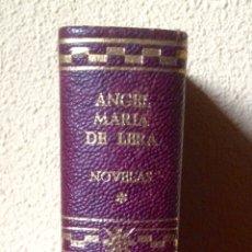 Libros de segunda mano: ÁNGEL MARÍA DE LERA NOVELAS TOMO I BIBLIOTECA DE AUTORES MODERNOS EDITORIAL AGUILAR. Lote 180289843