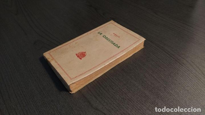 Libros de segunda mano: LA ORESTIADA. Esquilo. Blass. - Foto 3 - 180411813