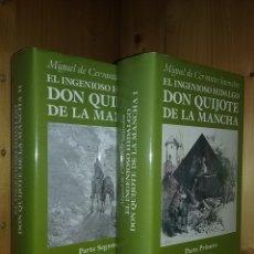 Libros de segunda mano: EL INGENIOSO HIDALGO DON QUIJOTE DE LA MANCHA, MIGUEL DE CERVANTES SAAVEDRA, AGUILAR MAIOR, 1990. Lote 180468262