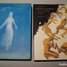 Libros de segunda mano: DIVINA COMEDIA. ANTE ALIGHIERI. SON LOS TOMOS DE INFIERNO Y DE PARAISO. ILUSTRADA POR BARCELÓ.. Lote 180875158