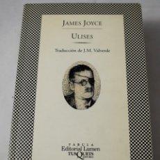 Libros de segunda mano: ULISES. JOYCE, JAMES. Lote 180927808