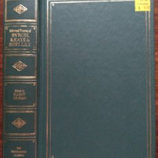 Libros de segunda mano: POEMS OF BYRON, KEATS AND SHELLEY. 1967. Lote 180961426