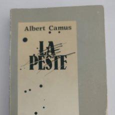 Libros de segunda mano: LA PESTE, ALBERT CAMUS. Lote 181169257