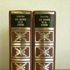 Libros de segunda mano: DON QUIJOTE DE LA MANCHA (1973) CERVANTES - DOS TOMOS ED. PETRONIO. Lote 181630935