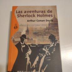 Libros de segunda mano: LAS AVENTURAS DE SHERLOCK HOLMES. ARTHUR CONAN DOYLE.. Lote 181964360