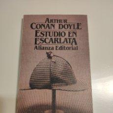 Libros de segunda mano: ESTUDIO EN ESCARLATA. ARTHUR CONAN DOYLE. SHERLOCK HOLMES.. Lote 181964423