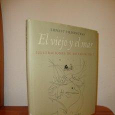 Livros em segunda mão: EL VIEJO Y EL MAR - ERNEST HEMINGWAY / SALVADOR DALÍ (ILUSTRACIONES) - GALAXIA GUTENBERG. Lote 182040705