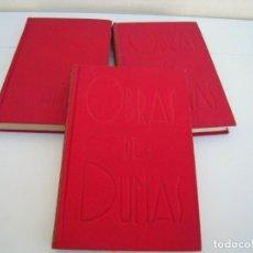 Libros de segunda mano: OBRAS DE DUMAS VEINTE AÑOS DESPUES TRES TOMOS. Lote 182119105