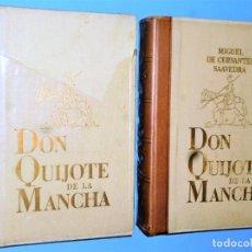 Libros de segunda mano: EL INGENIOSO HIDALGO DON QUIJOTE DE LA MANCHA. 2 TOMOS. Lote 182113517