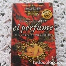 Libros de segunda mano: EL PERFUME HISTORIA DE UN ASESINO. Lote 182166316