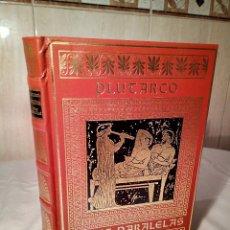 Libros de segunda mano: 52-VIDAS PARALELAS, PLUTARCO, 1984. Lote 182167427