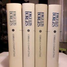 Libros de segunda mano: JORGE LUIS BORGES -OBRAS COMPLETAS. Lote 182424548