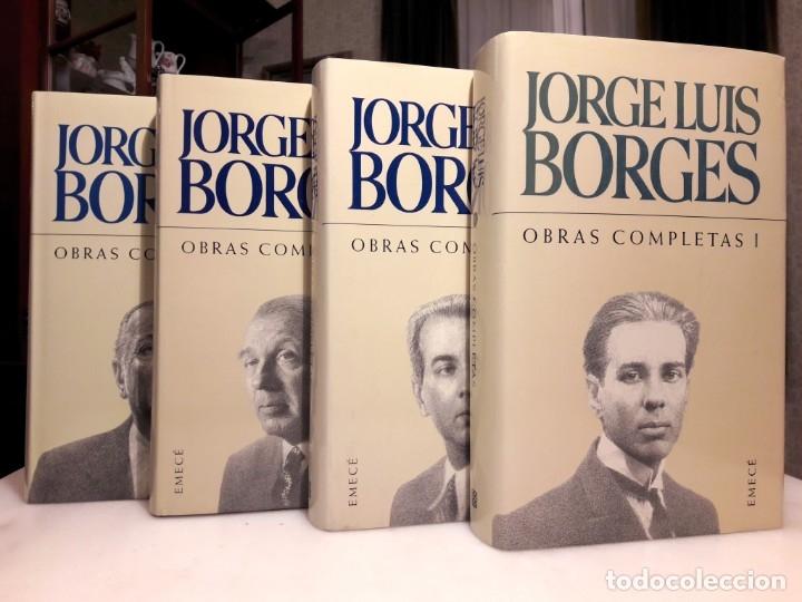 Libros de segunda mano: JORGE LUIS BORGES -OBRAS COMPLETAS - Foto 2 - 182424548