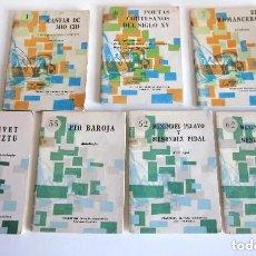 Libros de segunda mano: LOTE SIETE LIBRITOS COLECCIÓN PRIMERA BIBLIOTECA LITERATURA ESPAÑOLA INCLUYE NÚMERO 1 CANTAR MIO CID. Lote 182568265