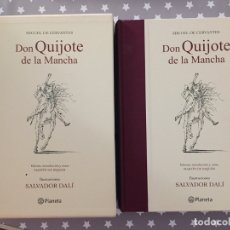 Libros de segunda mano: DON QUIJOTE DE LA MANCHA SALVADOR DALI, PLANETA. Lote 182733110