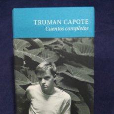 Libros de segunda mano: CUENTOS COMPLETOS - TRUMAN CAPOTE. Lote 182769723