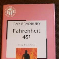 Libros de segunda mano: NOVELA FAHRENHEIT 451. RAY BRADBURY. Lote 182778875