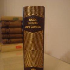 Libros de segunda mano: ROSALÍA DE CASTRO. OBRAS COMPLETAS. AGUILAR.. Lote 182909193