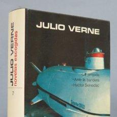 Libros de segunda mano: 1978.- NOVELAS ESCOGIDAS. JULIO VERNE. AGUILAR. LINCE ASTUTO. TOMOS VII. Lote 182983150