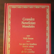 Libros de segunda mano: GRANDES NOVELISTAS MUNDIALES. 1990.. Lote 183235543