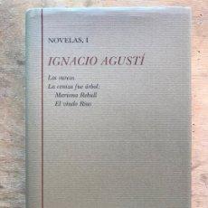 Libros de segunda mano: IGNACIO AGUSTÍ. NOVELAS, I. BILIBOTECA CASTRO. . Lote 183271478