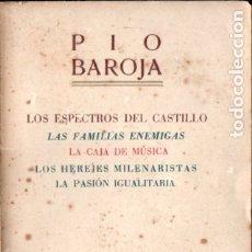 Libros de segunda mano: PÍO BAROJA : LOS ESPECTROS DEL CASTILLO (PAL.LAS, 1941). Lote 183276851