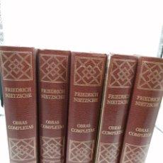 Libros de segunda mano: FRIEDRICH NIETZSCHE OBRAS COMPLETAS. Lote 183316722
