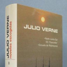 Libros de segunda mano: 1978.- NOVELAS ESCOGIDAS. JULIO VERNE. AGUILAR. LINCE ASTUTO. TOMOS VIII. Lote 183417147