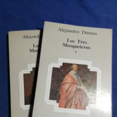 Libros de segunda mano: LOS TRES MOSQUETEROS. ALEJANDRO DUMAS. Lote 183520468