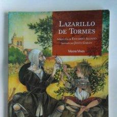Libros de segunda mano: LAZARILLO DE TORMES CLÁSICOS ADAPTADOS. Lote 183526483