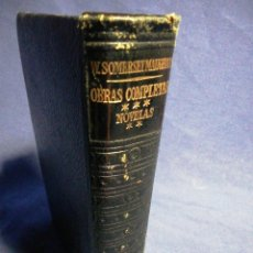 Libros de segunda mano: OBRAS COMPLETAS III W SOMERSET MAUGHAM. PIEL Y PAPEL DE BIBLIA. Lote 183529000