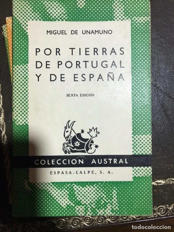 POR TIERRAS DE PORTUGAL Y DE ESPAÑA MIGUEL DE UNAMUNO (Libros de Segunda Mano (posteriores a 1936) - Literatura - Narrativa - Clásicos)