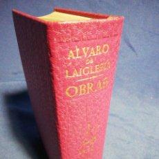 Libros de segunda mano: OBRAS. ÁLVARO DE LA IGLESIA. PIEL Y PAPEL DE BIBLIA. Lote 183608460