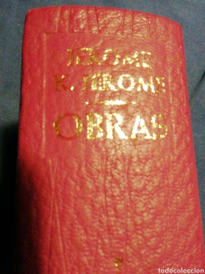 Libros de segunda mano: OBRAS. K. JEROME. PIEL Y PAPEL DE BIBLIA - Foto 4 - 183609276