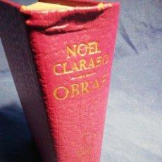 Libros de segunda mano: OBRAS. NOEL CARRASCO. PIEL TINTADA Y PAPEL DE BIBLIA. Lote 183611996