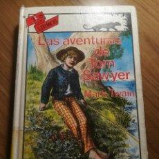 Libros de segunda mano: LAS AVENTURAS DE TOM SAWYER MARK TWAIN ANAYA TUS LIBROS COLECCION AVENTURAS 1991. Lote 183617906