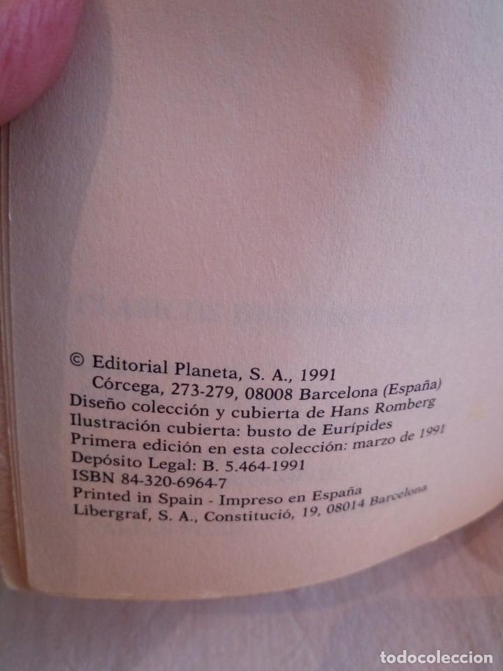 Libros de segunda mano: 226-EURIPIDES, Tragedias aticas y tebanas, 1991 - Foto 5 - 183625626