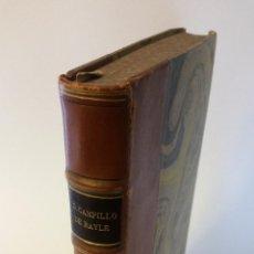 Libros de segunda mano: 1949 - CAMPILLO DE BAYLE - GUSTOS Y DISGUSTOS DEL LENTISCAR DE CARTAGENA - COL. ALMENARA. Lote 183682718