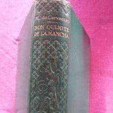 Libros de segunda mano: DON QUIJOTE DE LA MANCHA, CERVANTES, 1947, ED. CASTILLA. 1986 PAGINAS . Lote 183769690
