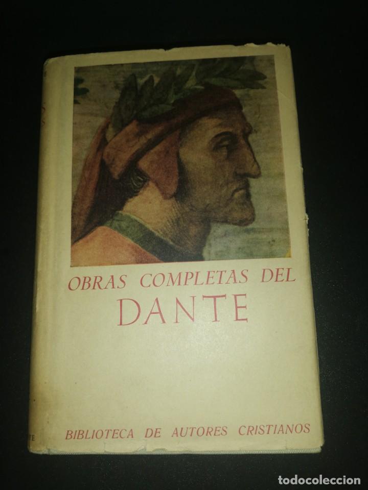 OBRAS COMPLETAS DE DANTE, BIBLIOTECA DE AUTORES CRISTIANOS (Libros de Segunda Mano (posteriores a 1936) - Literatura - Narrativa - Clásicos)