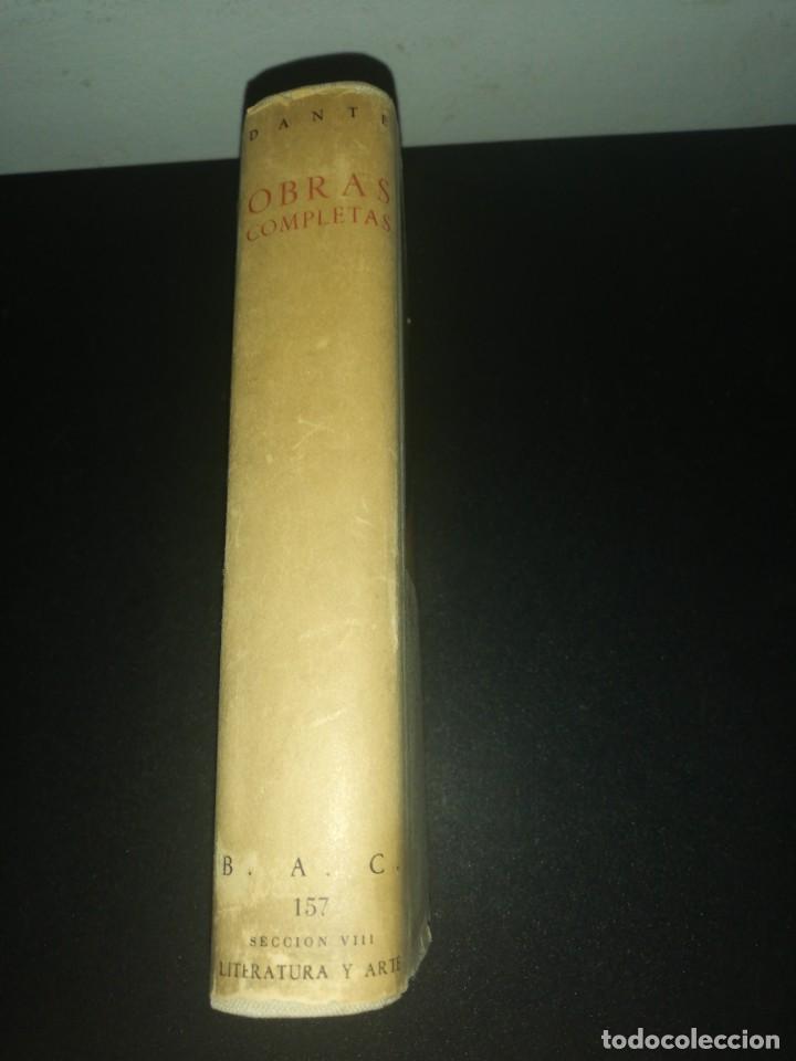Libros de segunda mano: Obras completas de dante, biblioteca de autores cristianos - Foto 2 - 183868986