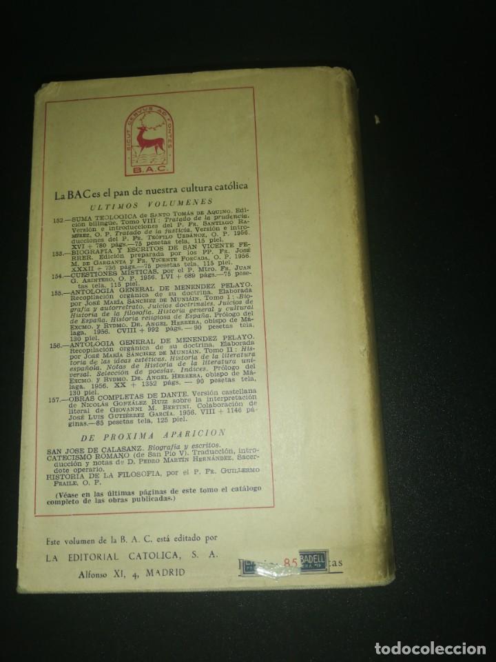 Libros de segunda mano: Obras completas de dante, biblioteca de autores cristianos - Foto 3 - 183868986